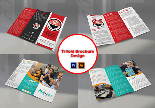 I will Create Professional Bifold And Trifold Brochure Design