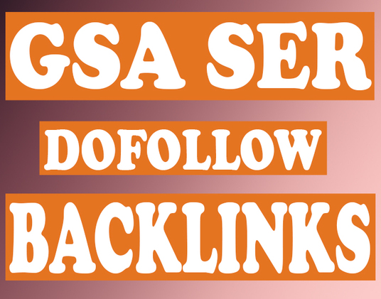 I will Give 200,000 GSA SER Dofollow Backlinks