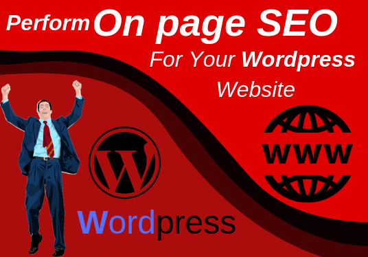 I will Perform On page SEO For Your Wordpress Website