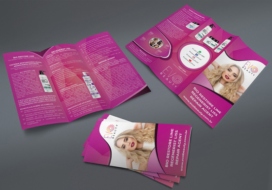 I will Design Awesome Trifold, Bifold Brochure, Flyer