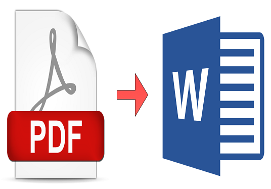 convert hard copy, scanned, PDF, Image documents into doc, txt or pdf