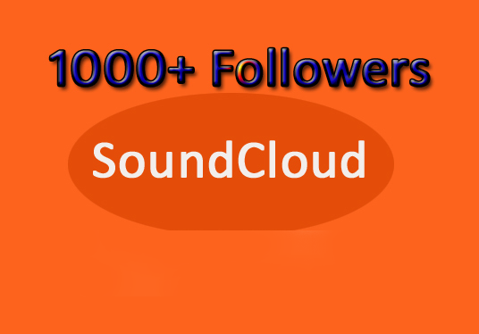 I will Give You 1000 SoundCloud Followers
