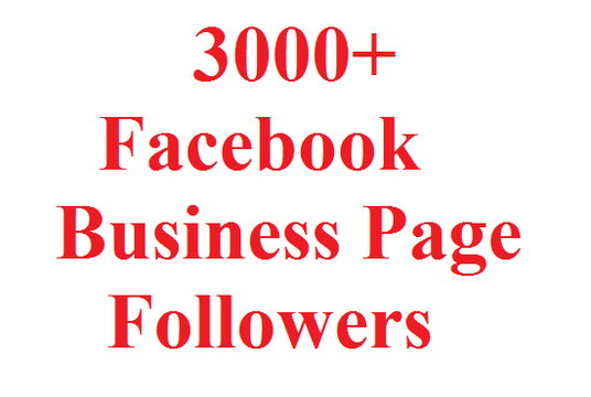 I will give you 3000 Facebook Followers
