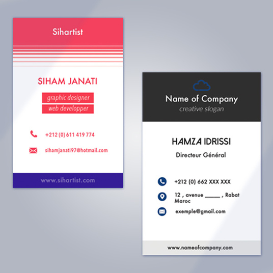 I will design a Unique Business Card for you