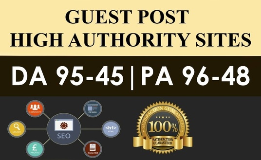 I will Publish 5X High Authority Guest Posts On DA 60+, High Quality Article