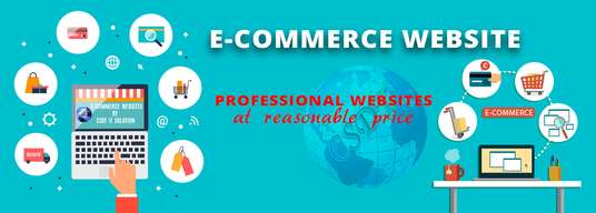 I will create an e-commerce website and add product