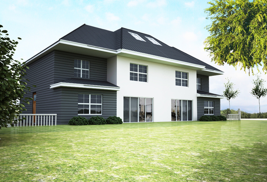 design photo-realistic 3D model of a house