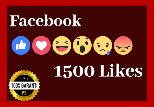 I will Add 1500+ Real Facebook photo Likes