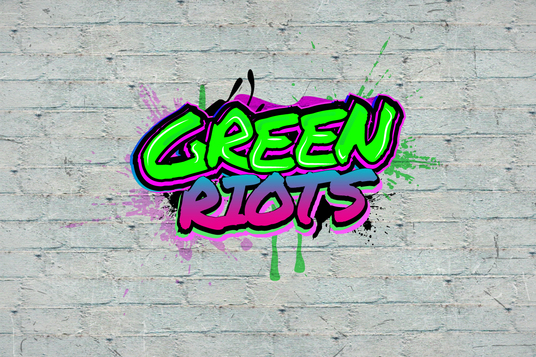 I will create a graffiti logo in new style