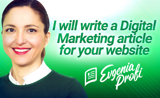 I will write article on Digital Marketing up to 1000 words
