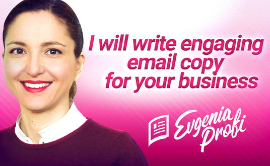 I will write an effective marketing email for your business