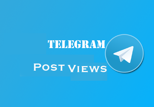 I will Provides 1000+ Telegram Views Likes