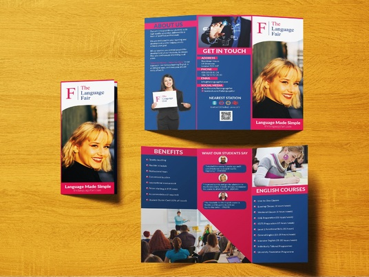 I will Design Awesome Tri-fold, Bi-fold Brochure Or Catalog