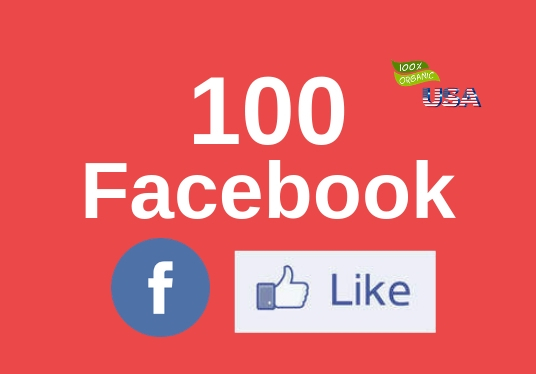 I will Provide 100+ Real and Permanent Facebook likes