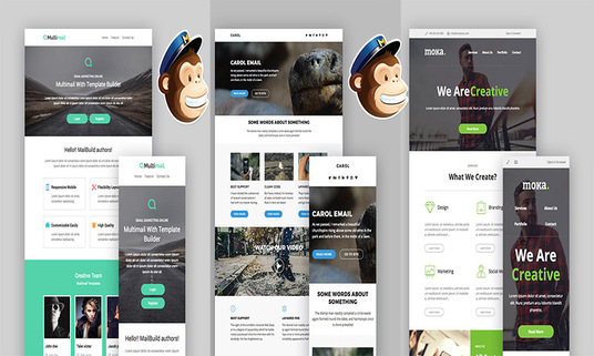 Design MailChimp Email Template,Newsletter,Setup Email Campaign And Create Form