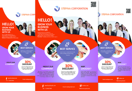 I will design a business flyer for your company