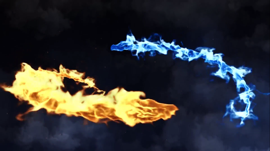 Create Dragon Fire Reveal With Your Logo or Text