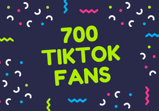 I will send 700 TikTok fans