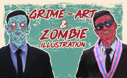I will make awesome grime art from your photo