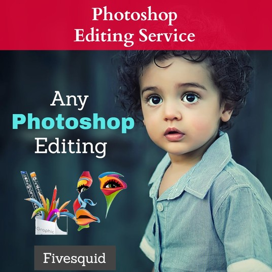 I will Do Any Photoshop Editing, Photo Retouching Professionally within 24hours
