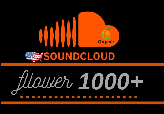 Provide 1000+ Soundcloud followers