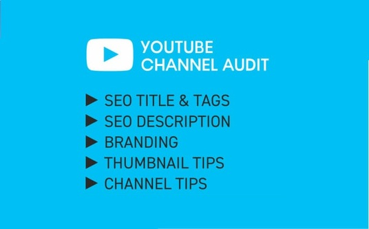 I will Do Youtube Channel Audit