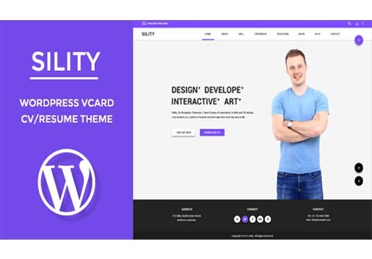 I will Create Responsive personal Portfolio website