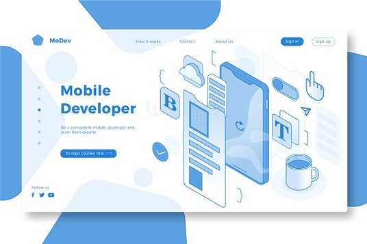 I will design a responsive landing page for your business website