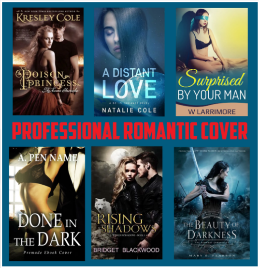 I will Design Erotica Or Romance Ebook Cover