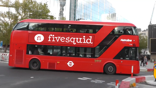 I will Put Your Logo On This Business Bus Video