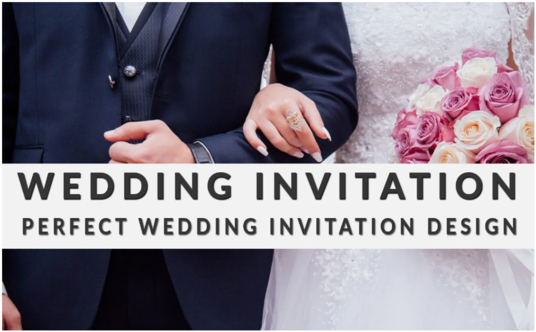 I will Create An Awesome Wedding Invitation For You