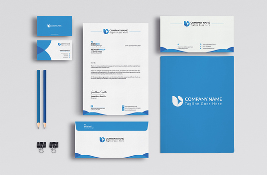 I will design Letterhead, Business Card and Stationary