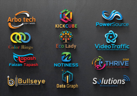 I will Design An Awesome 3d Logo Design