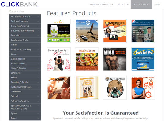 I will Create Best Hot Selling Clickbank Affiliate Site For You