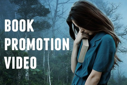 make a cinematic book trailer or book promo video