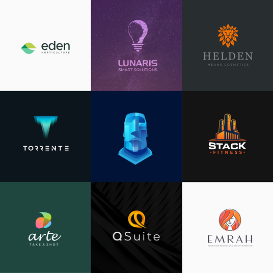 I will design modern business logo