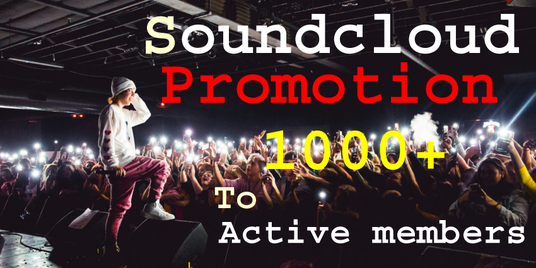do organic Sound cloud music promotion