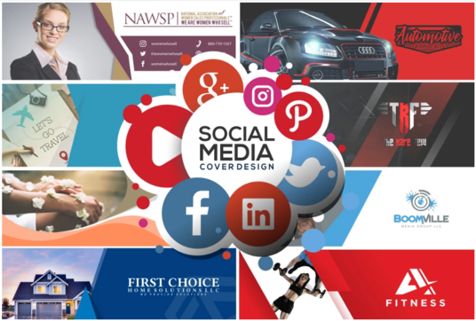 I will Design A Professional Social Media Cover, Banner, Header For Any Social Network