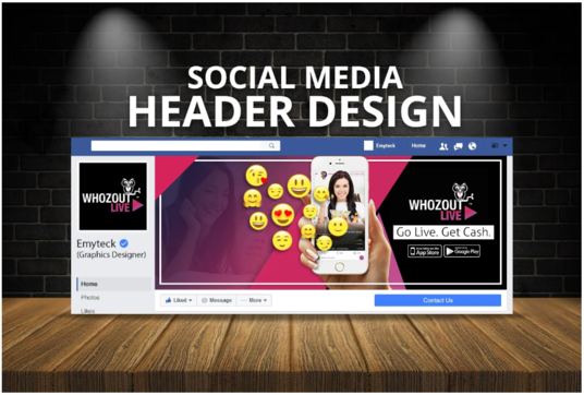 Design A Professional Social Media Cover, Banner, Header For Any Social Network