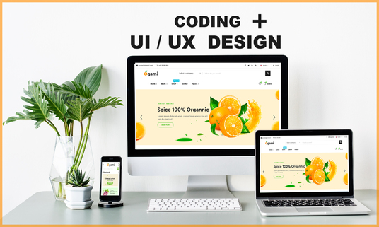 I will be your ui ux designer and developer