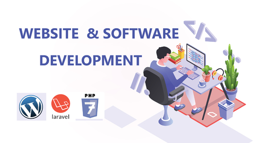 I will design and develop  software & website application