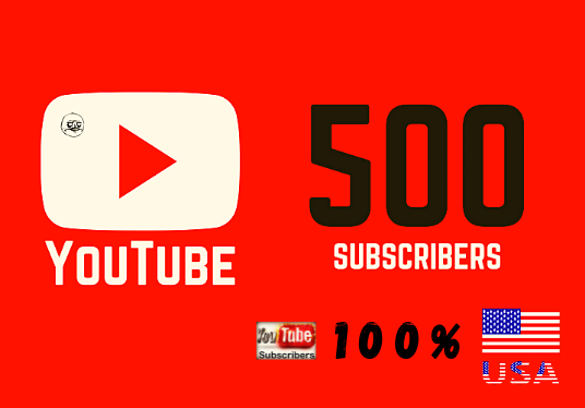I will Provide 500 USA Youtube Subscribers  by your channel link with no need for admin access