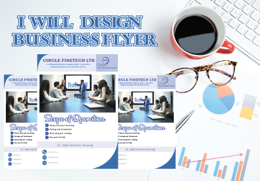 I will Design  Business Flyer