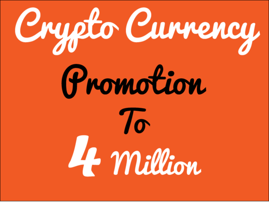 I will do ICO or crypto promotion to 4 million real and active audience on Facebook