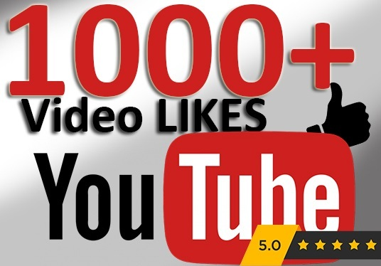 I will Give You 1000+ Real YouTube Video Likes