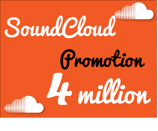 I will do Soundcloud promotion to 4 million real and active audience