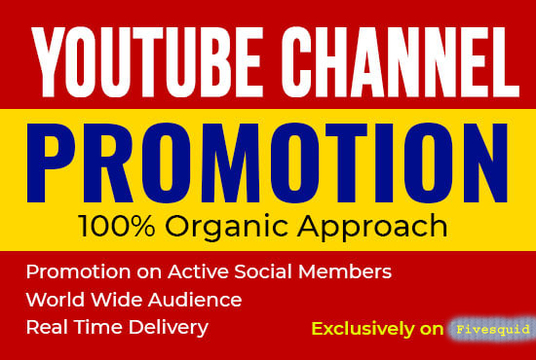 I will do organic YouTube Promotion