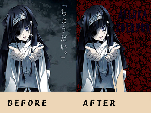 remove manga, anime or cartoon background very well and fast