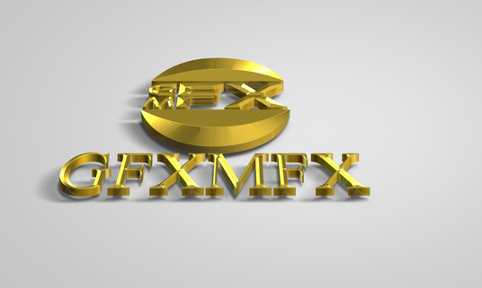 Convert Your Logo To 3d Metallic Gold And Silver