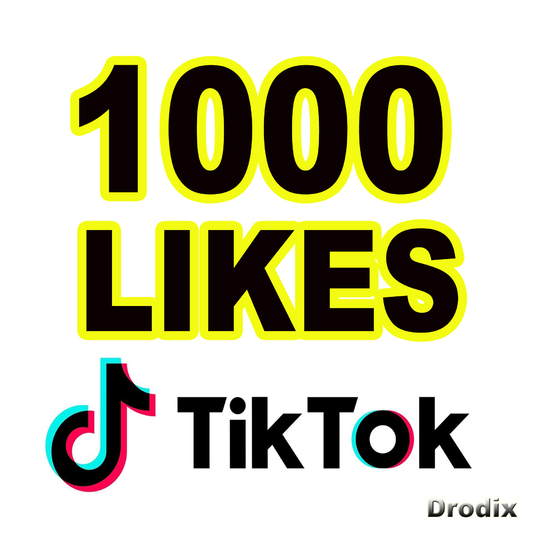 I will Provide 1000 Tik Tok Likes NON DROP